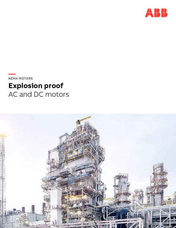 Explosion Proof Brochure