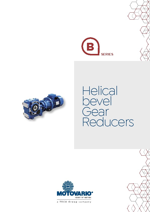 Motovario Bevel Helical Brochure