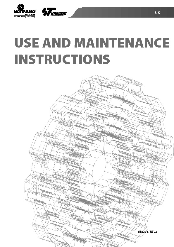 Mechanical Variator Manual