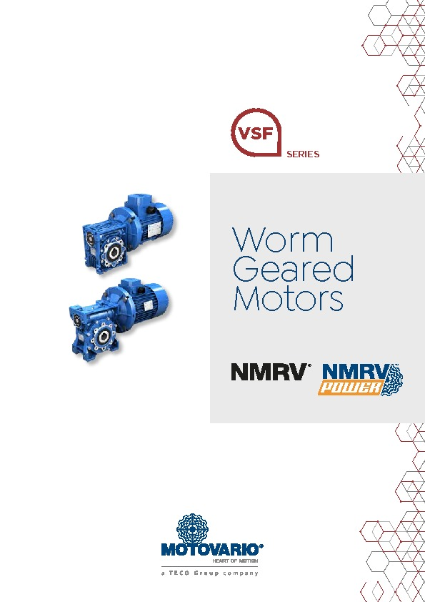 Motovario Worm Brochure