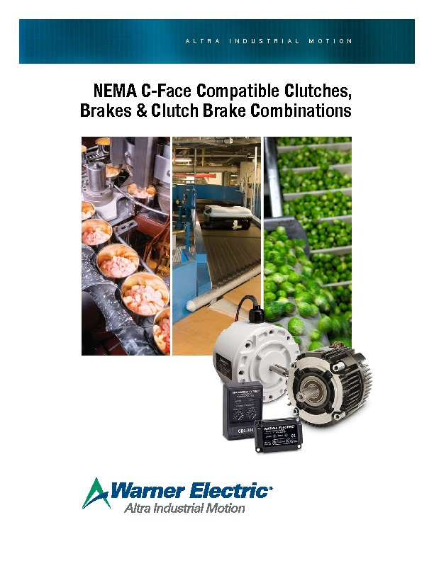 Warner Electric Packaged Catalogue